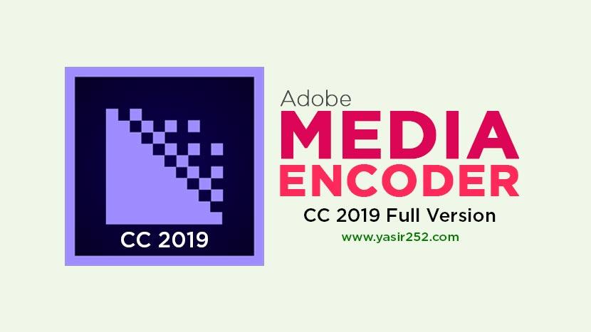 adobe media encoder cc 2019 скачать