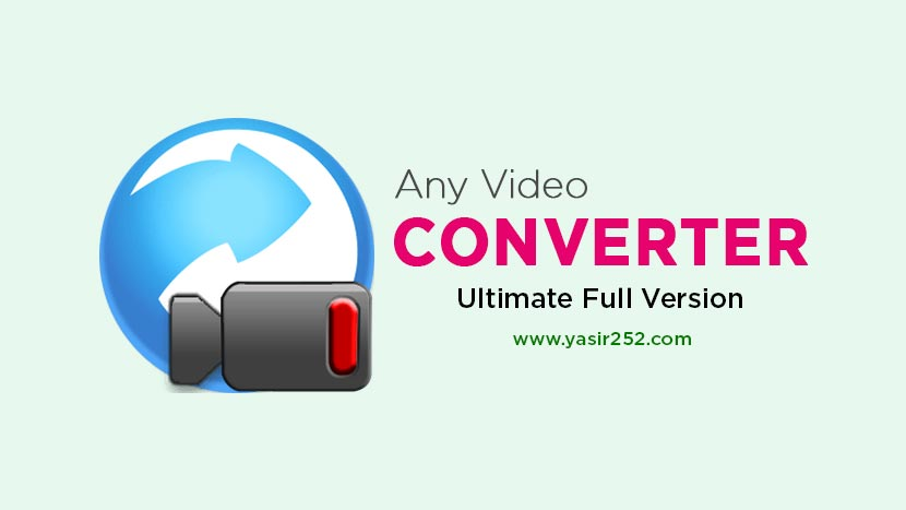 Download Any Video Converter Full Version Crack