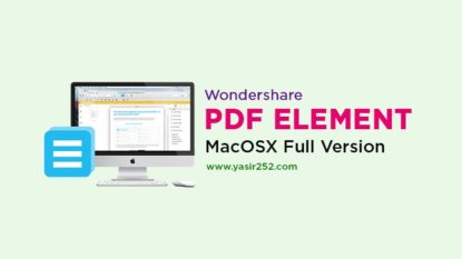 Download Wondershare PDFelement MacOSX Full Version Crack