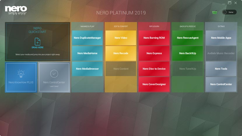 Nero 2019 Full Version Free Download