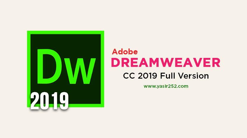Adobe Dreamweaver CC 2019 Full Version Crack