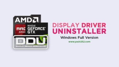 Display Driver Uninstaller Download Gratis