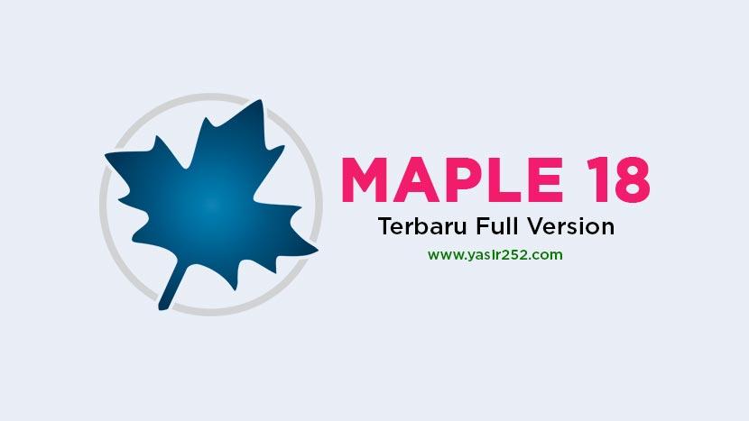 Download Maple 2018 Full Crack