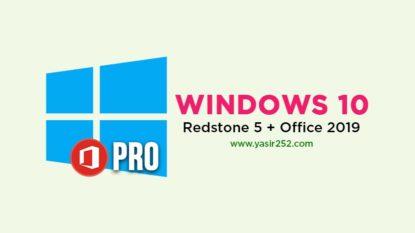 Download Windows 10 Pro Redstone 5 ISO 64 Bit Office 2019