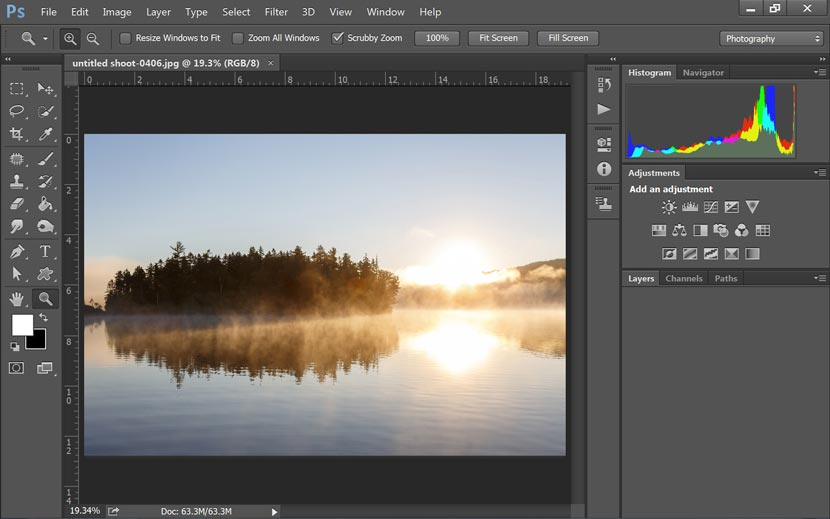 Adobe Photoshop CC 2015 Portable Gratis