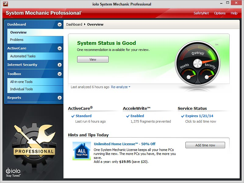 Download System Mechanic Pro Full Version