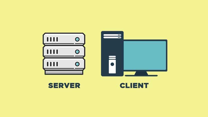 pengertian server dan client