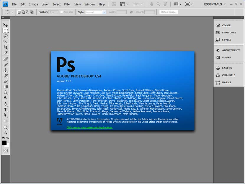 Adobe Photoshop CS4 Portable
