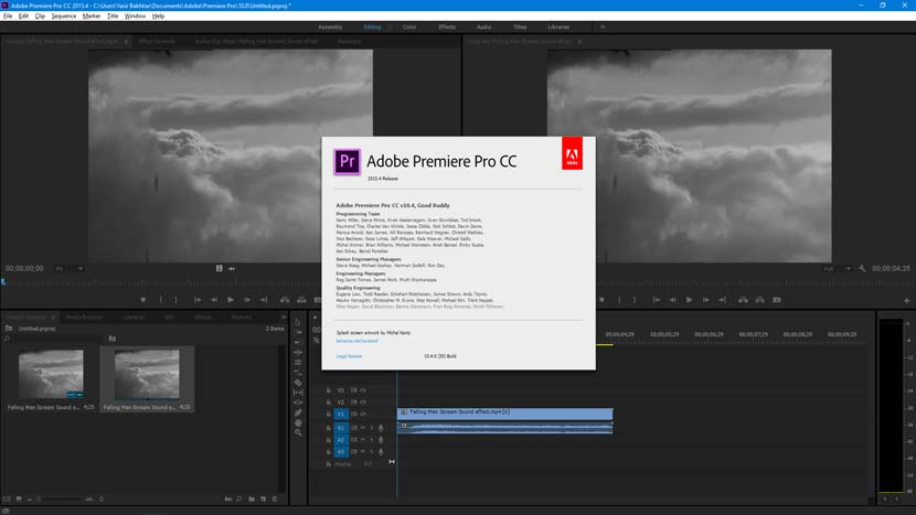 Adobe Premiere Pro CC 2015 Free Download Full Version