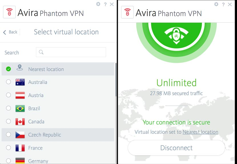 Avira Phantom VPN Free Download Full Crack