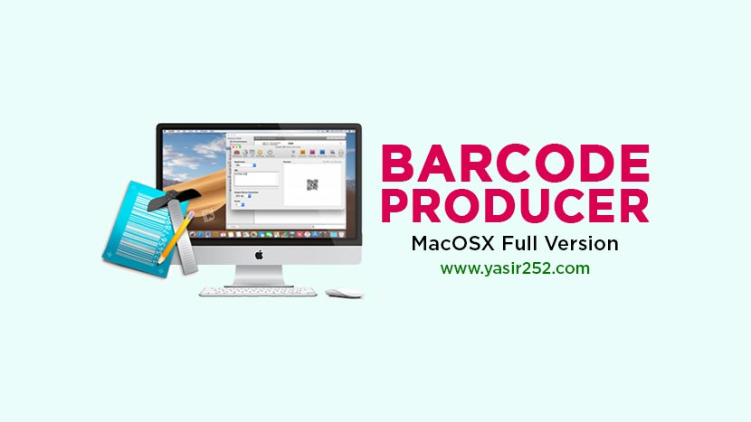 Barcode Producer v6.8 Mac Free Full Version [ZS]