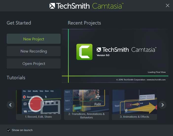 latest camtasia version