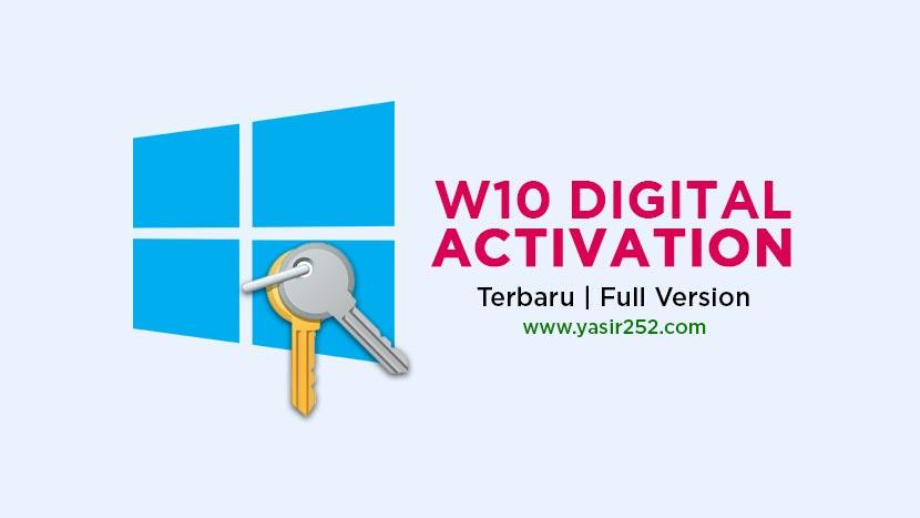 Download W10 Digital Activation Terbaru Windows 10 Activator