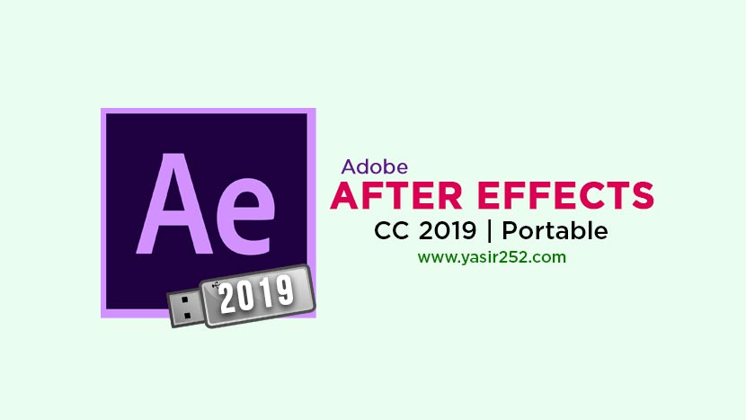 Download Adobe After Effects CC 2019 Portable Gratis