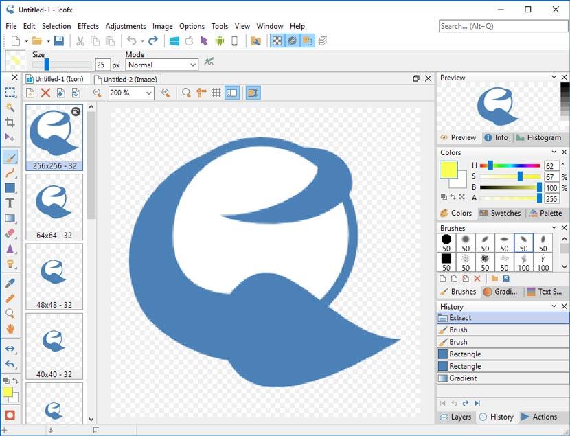 IcoFX Icon Editor Windows