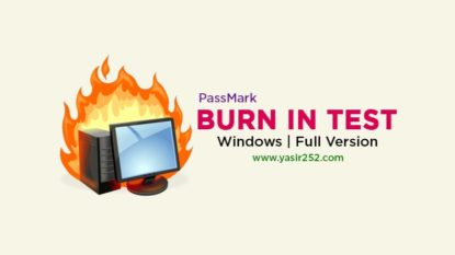 PassMark BurnInTest Pro 9 Free Download Full Version