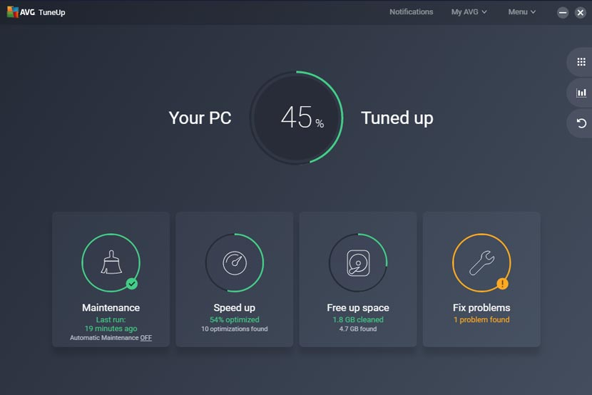 AVG TuneUp Serial Key 2020 Terbaru