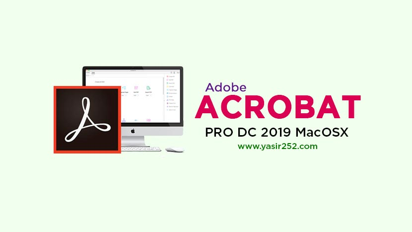Download Adobe Acrobat Pro DC 2019 Mac Full Version