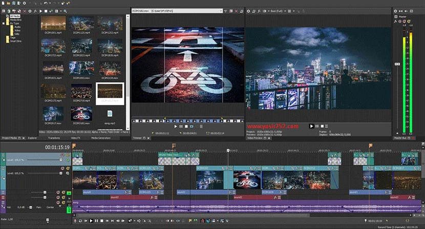 Download Magix Vegas Pro 15 For PC Full
