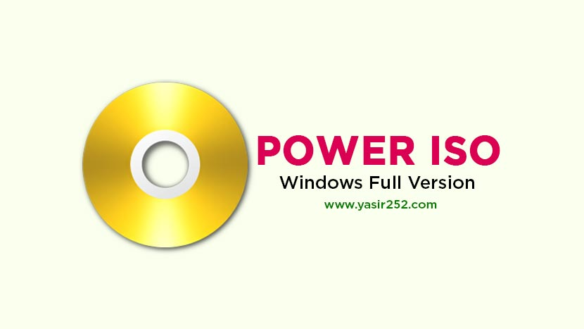 power iso free download with crack for windows 7 64 bit