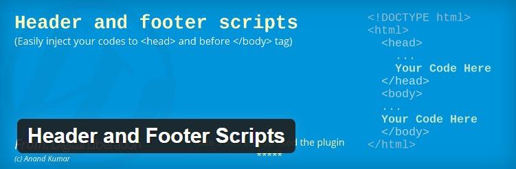 Cara Menambahkan Javascript Header Footer WordPress