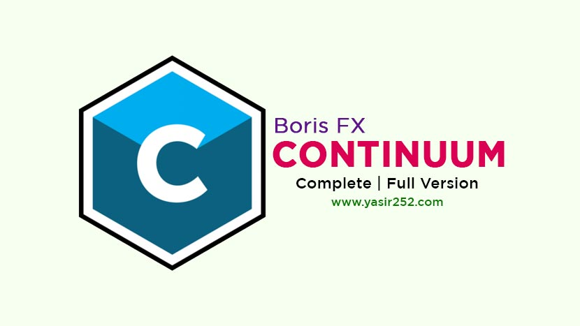 Download Boris FX Continuum Complete Full Version Crack
