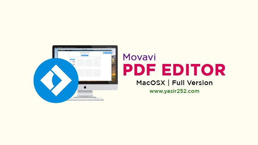 Download Movavi PDF Editor Mac Full Version Crack