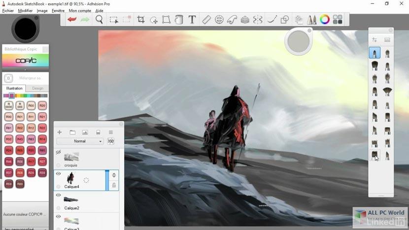 Aplikasi Autodesk Sketchbook Pro Gratis