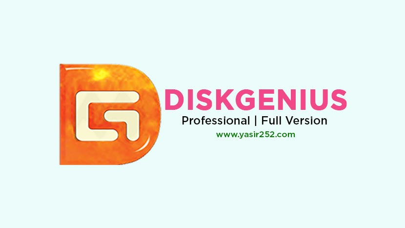 Download DiskGenius Professional Full Version