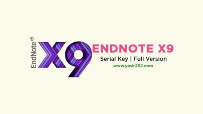 Download EndNote X9 Full Version