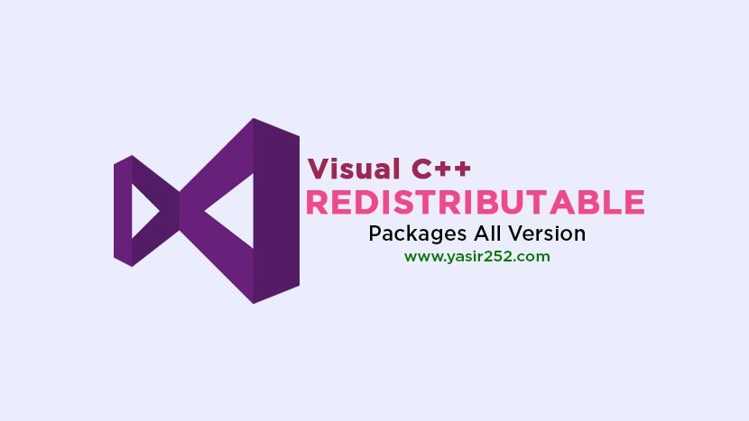Download Visual C++ Redistributable