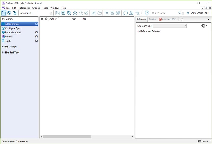 EndNote X9 Full Version Free Download