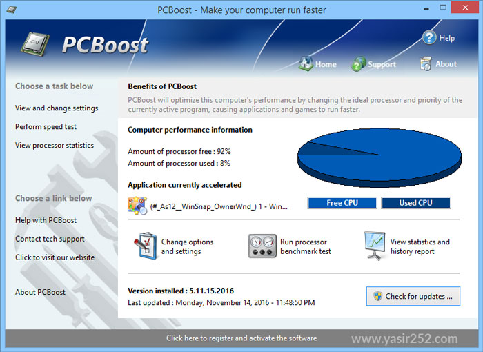 PGWare PCBoost User Interface