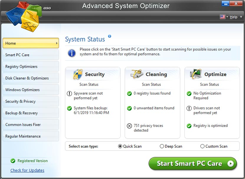 Advanced System Optimizer Full Version