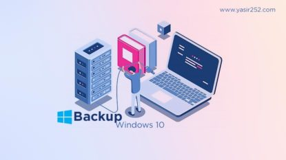 Cara Backup Windows 10