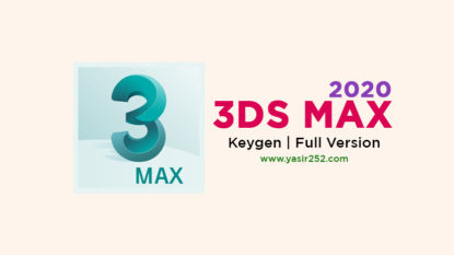 Download 3DS Max 2020 Full Version Terbaru