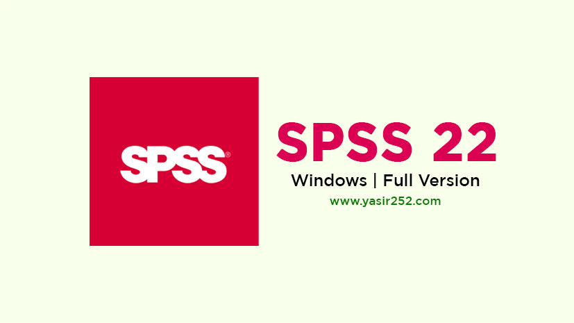 Download SPSS 22 Full Version Gratis