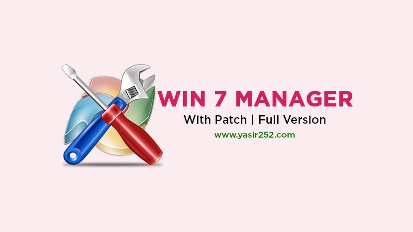 Download Windows 7 Manager Full Version Terbaru