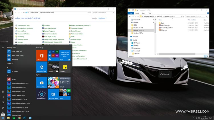 Windows 10 Pro Redstone 6 Terbaru