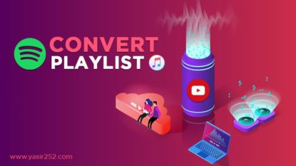 Cara Convert Playlist Musik Youtube Spotify iTunes Soundcloud