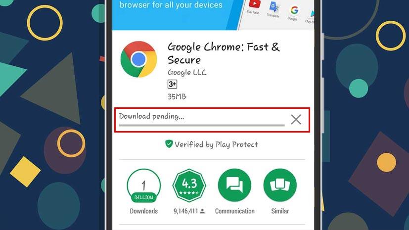 Cara Mengatasi Download Pending Android Play Store