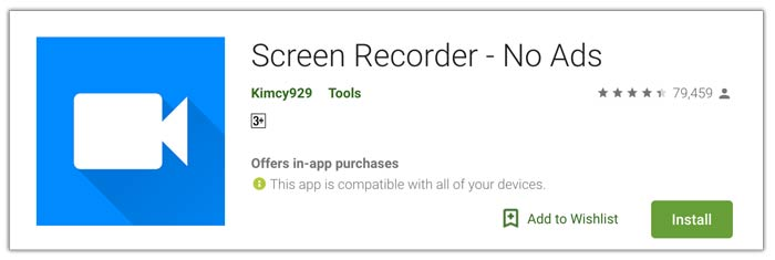 Kimcy929 Screen Recorder Android
