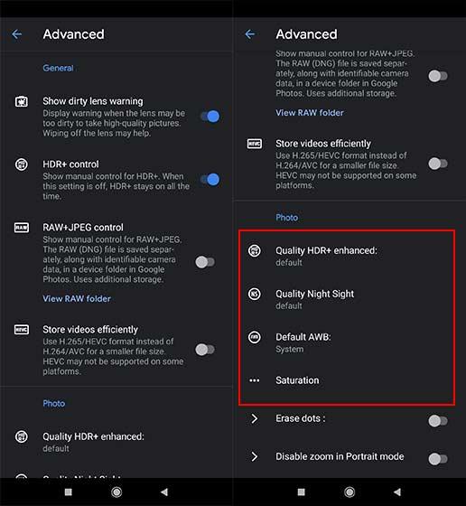 konfigurasi google camera redmi note 7