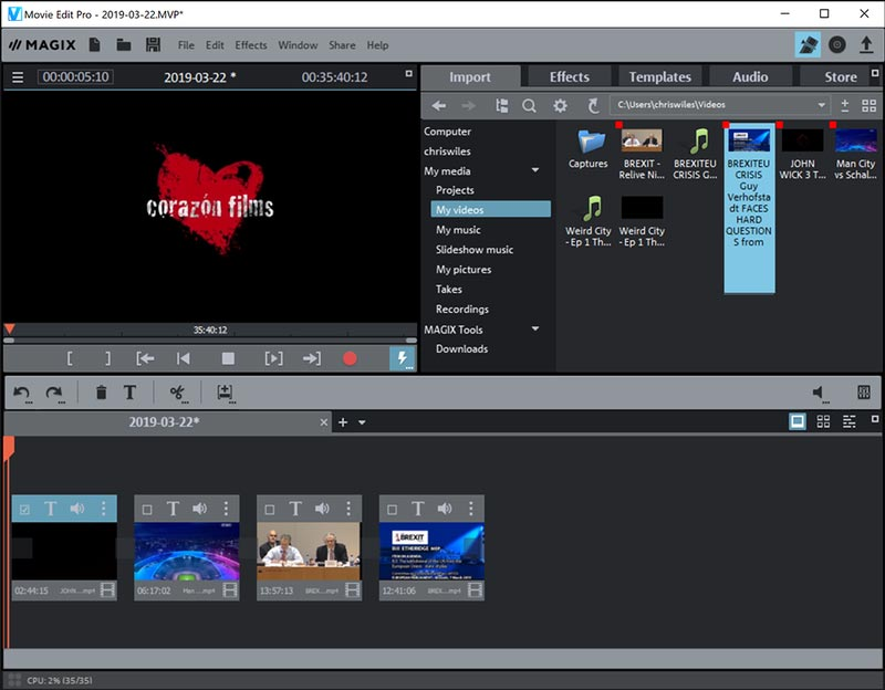 MAGIX Movie Edit Pro Full Version Premium