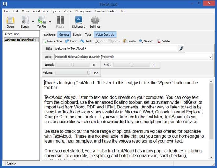 NextUp TextAloud Full Crack