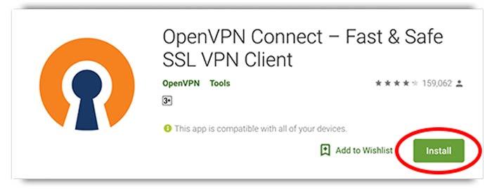 Cara Memasang OpenVPN pada Android
