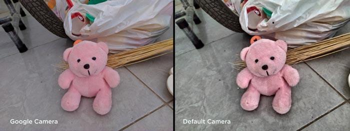 perbandingan foto