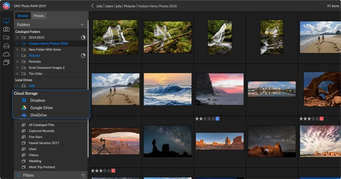 Best All In One Lightroom Alternative On1 Photo RAW