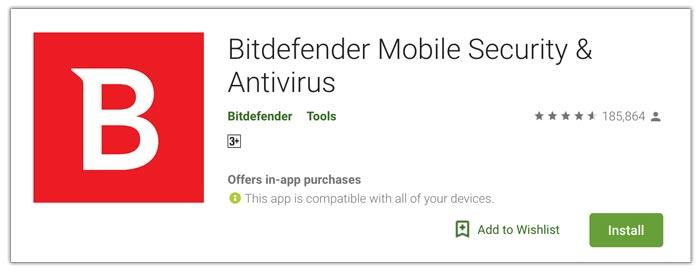 Bitdefender aplikasi antivirus terbaik android