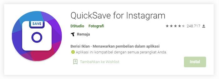 Cara Menyimpan Video Instagram di Android